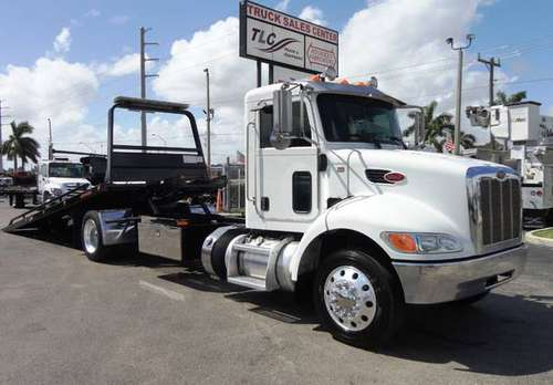 2015 *Peterbilt* *337* *21FT JERRDAN ROLLBACK TOW TRUCK for sale in Pompano Beach, FL