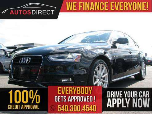 2016 AUDI A4 Premium Plus $0 DOWN PAYMENT PROGRAM!! for sale in Fredericksburg, VA