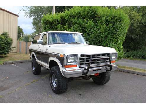1978 Ford Bronco for sale in Tacoma, WA