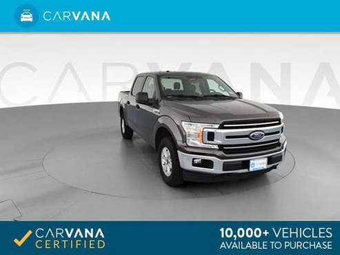 2018 Ford F150 SuperCrew Cab XLT Pickup 4D 5 1/2 ft pickup Dk. Gray - for sale in Macon, GA