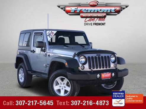2014 Jeep Wrangler Sport -- Down Payments As Low As: for sale in Casper, WY