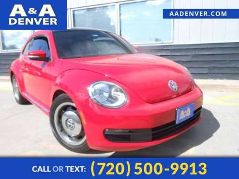 2013 Volkswagen Beetle Coupe 2.5L w/Sun for sale in Denver , CO