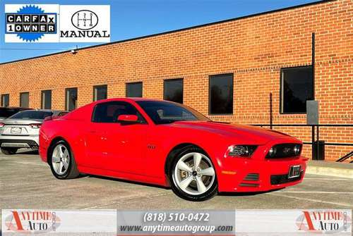2014 Ford Mustang GT - One Owner - 6 speed manual - Financing! -... for sale in Sherman Oaks, CA