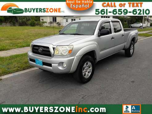 2008 Toyota Tacoma 4WD Dbl LB V6 AT (Natl) for sale in West Palm Beach, FL