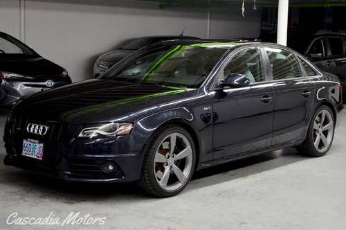 2012 Audi S4 Prestige - 1 Owner - Drive Select Package for sale in Milwaukie, OR