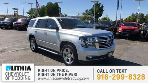 2015 Chevrolet Tahoe 4WD 4dr LTZ for sale in Redding, CA