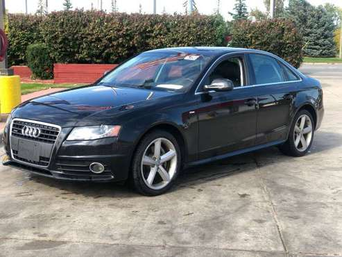 2012 Audi A4 Quattro s-line Clean mint for sale in Warren, MI