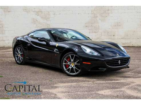 Beautiful Exotic Super Car! 460hp, V8 - Ferrari California! for sale in Eau Claire, ND