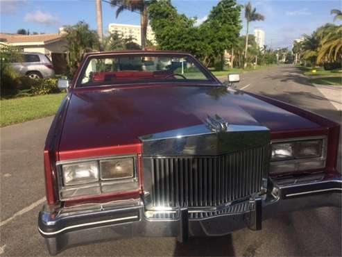 1985 Cadillac Eldorado Biarritz for sale in Hallandle, FL