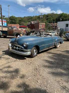 1950 Pontiac barnfind cheiftian silver streak Convertible for sale in Pittsburgh, PA