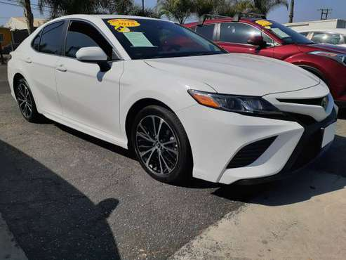 2018 TOYOTA CAMRY SE WHT $2,000 DOWN APPROVED BAD CREDIT OK - cars &... for sale in Orange, CA