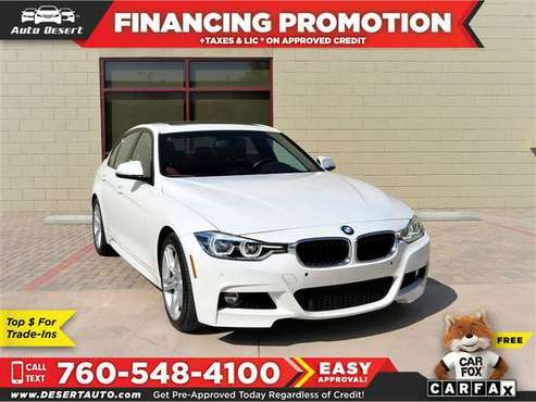 2016 BMW *328i* *328 i* *328-i* *M* *Sport* *Package* *Driver*... for sale in Palm Desert , CA