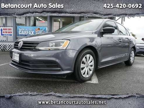 2016 Volkswagen Jetta Sedan 4dr Auto 1.4T S w/Technology - cars &... for sale in Lynnwood, WA