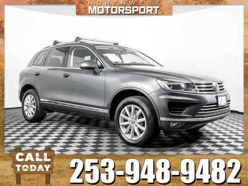 2016 *Volkswagen Touareg* TDI AWD for sale in PUYALLUP, WA