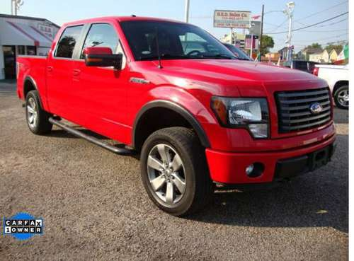 2011 Ford F-150 4WD SuperCrew 145 FX4 for sale in Houston, TX