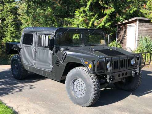 6.2L Diesel HUMVEE-27K Miles, WASHINGTON STREET LEGAL for sale in Shelton, WA