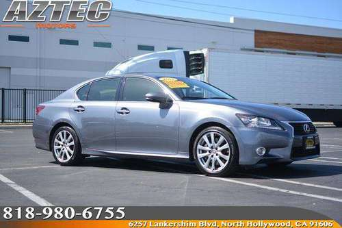 2013 Lexus GS 350 Financing Available For All Credit! for sale in Los Angeles, CA