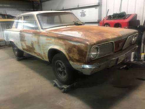 1966 Plymouth Valiant for sale in Channahon, IL