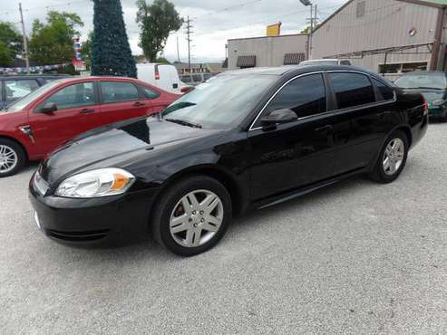 2012 CHEVY IMPALA LT for sale in Lafayette, IN