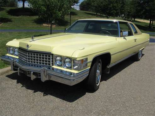1974 Cadillac Coupe DeVille for sale in Shaker Heights, OH