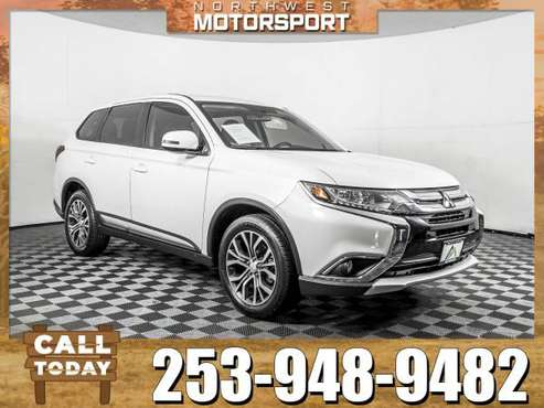 *THIRD ROW* 2018 *Mitsubishi Outlander* SE AWD for sale in PUYALLUP, WA