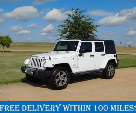 2017 Jeep Wrangler Unlimited Sahara for sale in Denison, TX