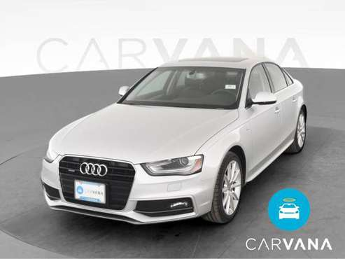 2014 Audi A4 Premium Plus Sedan 4D sedan Silver - FINANCE ONLINE -... for sale in Albuquerque, NM