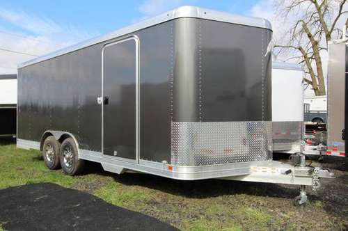 NEW 2019 Featherlite 4926 20' Enclosed Car Trailer - All Aluminum - 10 for sale in Albany, OR