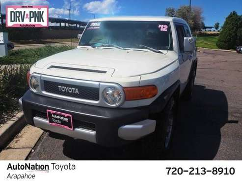 2012 Toyota FJ Cruiser 4x4 4WD Four Wheel Drive SKU:CK146644 for sale in Englewood, CO