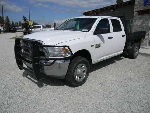 2014 Ram 2500 Tradesman Crewcab 4WD Flatbed 3743 for sale in Stevensville, WA