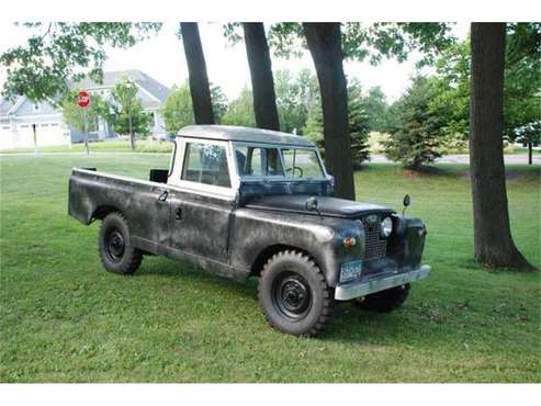 1962 Land Rover Series IIA for sale in Cadillac, MI