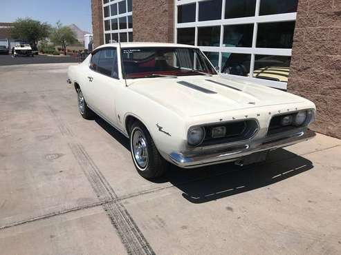1967 Plymouth Barracuda SKU:C0367 273ci V-8 for sale in Henderson, AZ