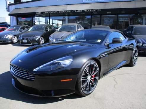 2015 Aston Martin DB9 Carbon Edition *EASY APPROVAL* for sale in San Rafael, CA