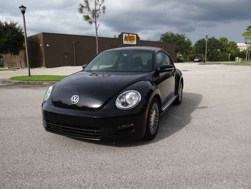2013 VOLKSWAGEN BEETLE 2.5 COUPE 5 SP MANUAL GREAT SHAPE CLEAR FL... for sale in Fort Myers, FL