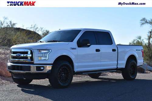 2015 *Ford* *F-150* *4WD SuperCrew 145 XLT* Oxford W for sale in Scottsdale, AZ