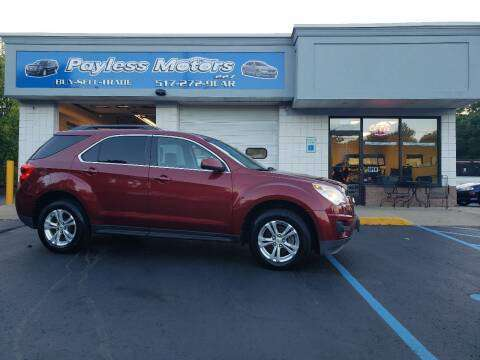 2011 CHEVY EQUINOX LT ONLY 105K MILES !! for sale in Lansing, MI