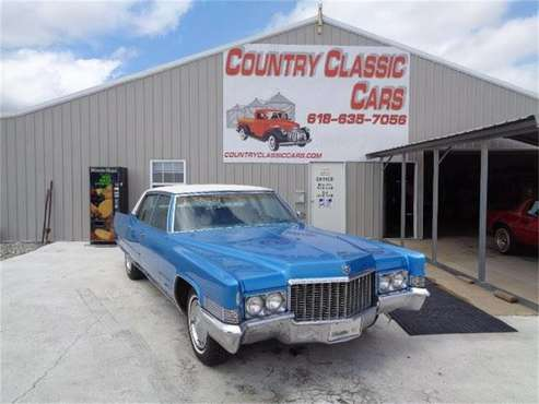 1970 Cadillac Fleetwood Brougham for sale in Staunton, IL