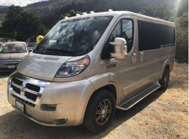 2017 Ram Promaster Braun Accessibility for sale in Mariposa, CA