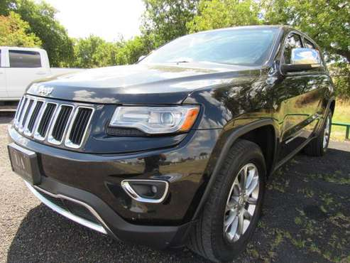 2014 Jeep Grand Cherokee Limited - Loaded, Warranty, Locally Owned for sale in Waco, TX