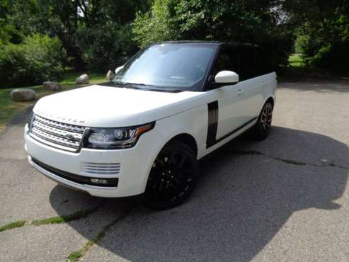 WHITE RANGE ROVER 2014 SUPERCHARGED FOR SALE!! for sale in Utica, MI