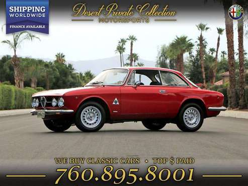 1969 Alfa Romeo GTV Coupe 1750 injection Coupe that performs beyond... for sale in Palm Desert , CA