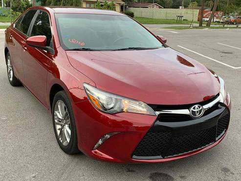 2017 Toyota Camry SE 4dr Sedan 100% CREDIT APPROVAL! for sale in TAMPA, FL