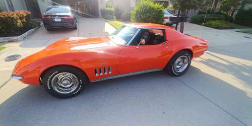 1969 Corvette 4sp 350/350 hp trades for sale in McKinney, TX