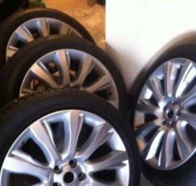 "Range Rover 21"" Supercharged Wheels & New Tires for sale in Belmont, MA"