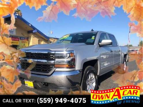 2016 Chevrolet Silverado 1500 LT Pickup 4D 5 3/4 ft for sale in Fresno, CA