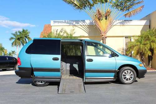 1998 Plymouth Voyager Braun Conversion Power Wheelchair Handicap Van for sale in Fort Myers, FL
