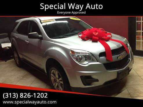 2010 Chevrolet Chevy Equinox LS AWD 4dr SUV BAD CREDIT NO CREDIT OK!! for sale in Hamtramck, MI