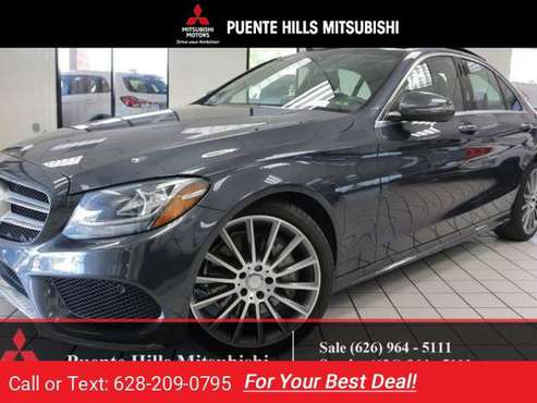 2016 Mercedes Benz C300 Sport AMG PKG for sale in City of Industry, CA