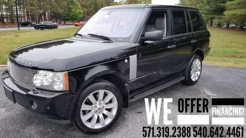 2008 Range Rover HSE 4.4L AWD Luxury Package (New Tires) We Finance! for sale in Fredericksburg VA, District Of Columbia