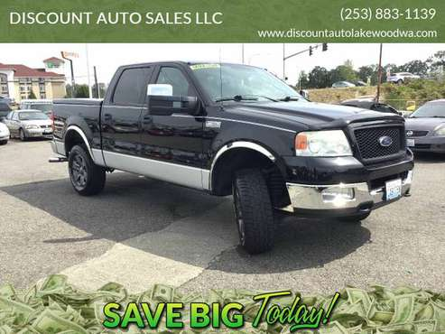2004 *FORD* *F-150* XLT 4WD Super Crew (Low Miles) !!! for sale in Lakewood, WA